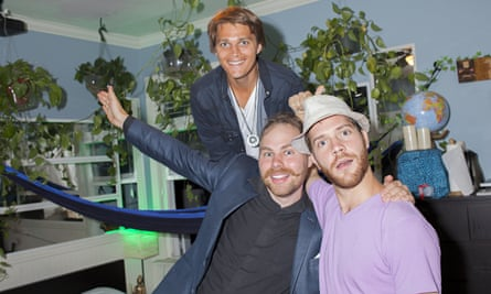 Sean Ahrens, Adonis Gaitatzis and Ben Greenberg