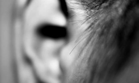 A human ear