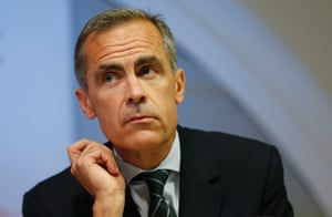 Bank of England Governor Mark Carney listens to a journalist's question during the bank's quarterly inflation report news conference at the Bank of England in London August 13, 2014.