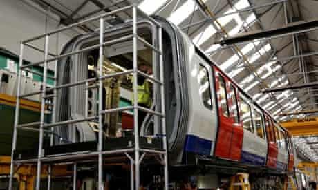 underground train building