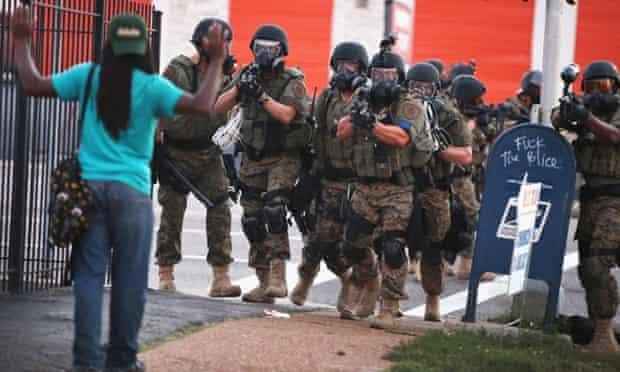 ferguson police force