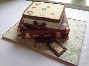 A Travel Mad 70year Olds Birthday Cake My Sister Made This For Our Fathers