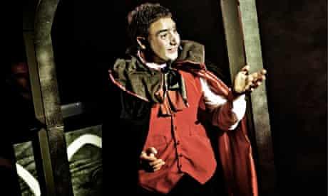 'Knockabout comedy': Nick Mohammed, aka Mr Swallow, aka Dracula.