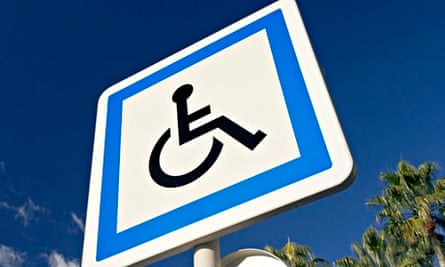 disabled sign abroad