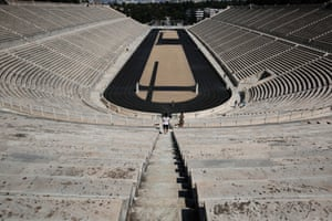 Abandoned Athens Olympic Venues Years On In Pictures - 30 haunting images abandoned olympic venues