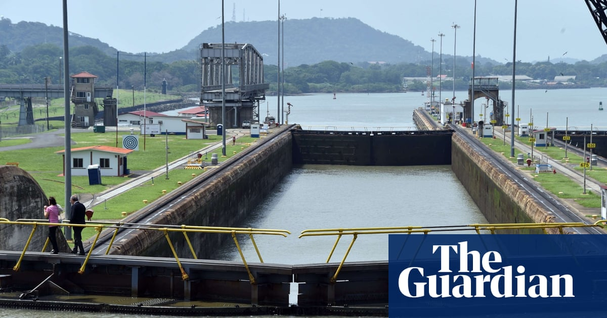 Climate change may 'bottleneck' the Panama Canal and disrupt