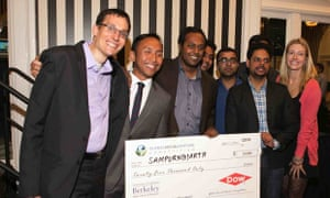 Mumbai-based Sampurn(e)arth was the grand prize winner at 2014's Global Social Venture Competition