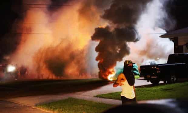 ferguson gas smoke getty
