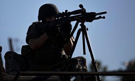 Ferguson police sniper