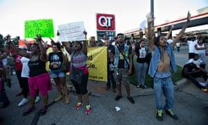 Missouri demonstrators