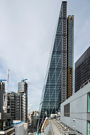 Leadenhall Building at 122 Leadenhall Street, otherwise know as the Cheesegrater