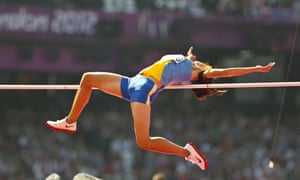 Thi Viet Anh DUONG of Vietnam jumping in the Women's High Jump