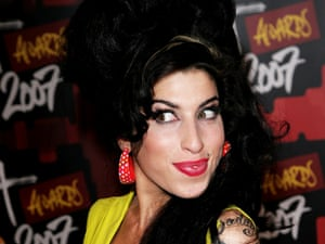 Singer Amy Winehouse