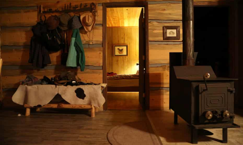 Inside Hideaway cabin