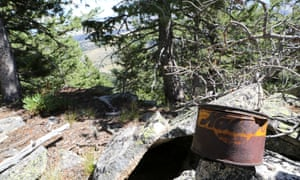 The old tin on Black Butte