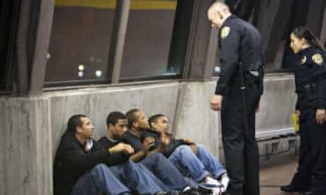 Fruitvale Station film police at station