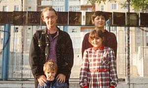 David Atkinson and adoptive family in Moldova