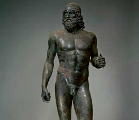 One of the two Riace bronzes: the Warrior