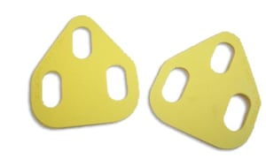 Cleat wedges or shims can help those with leg length discrepancies