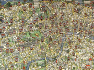 London Town Map.How Map Master Max Gill Became The Saviour Of The London Underground