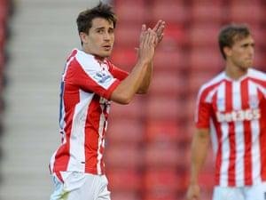 Stoke City's Bojan Krkic.