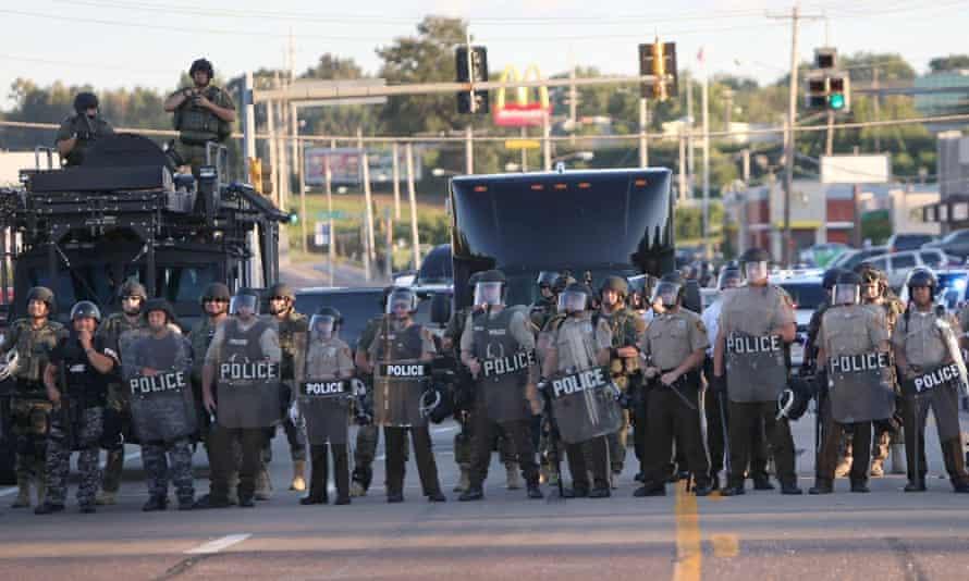 police ferguson michael brown