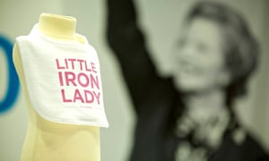 Thatcher themed merchandise at Tory conference