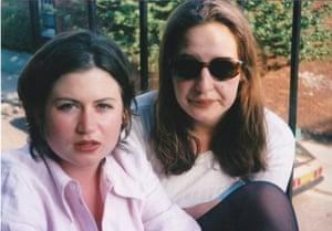 Zoe Williams and friend Julia