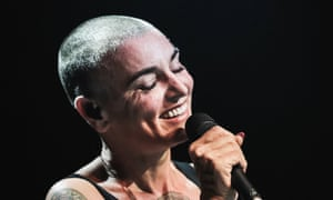 Sinéad O'Connor performs on stage at The Roundhouse