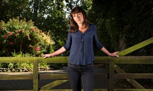 Writer and novelist Rachel Cusk photographed at her home in Norfolk, England.