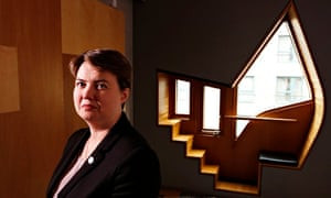 Ruth Davidson at Holyrood … 'We've had 25 years of Tory decline and you don't turn that around overn