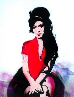 Amy Winehouse, by Bambi