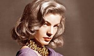 Lauren Bacall, ca. 1945