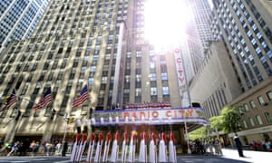 Christmas has come early in New York, as the Rockettes perform during the 'The Radio City Christmas Spectacular'