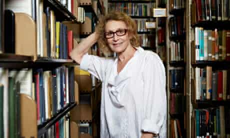Phyllis Rose photographed last week at the New York Society Library