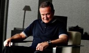 'Humility': Robin Williams in 2011.