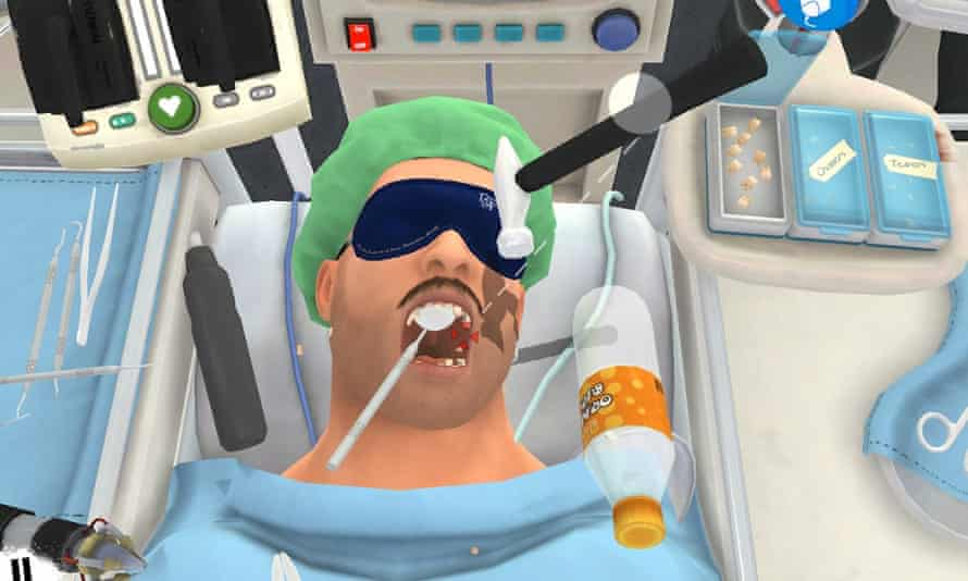 Surgeon Simulator for Android.