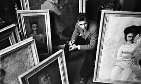 The artist and writer Mervyn Peake