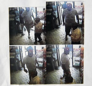 Images provided by the Ferguson Police Department show security camera footage on the day that Michael Brown was fatally shot by a police officer.