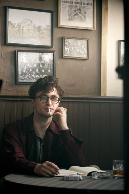 Daniel Radcliffe as Allen Ginsberg in Kill Your Darling (2013).