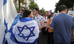 A pro-Israel rally in France