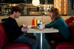 Daniel Radcliffe and Zoe Kazan in What If.