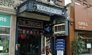 The Tricycle Theatre in Kilburn, London
