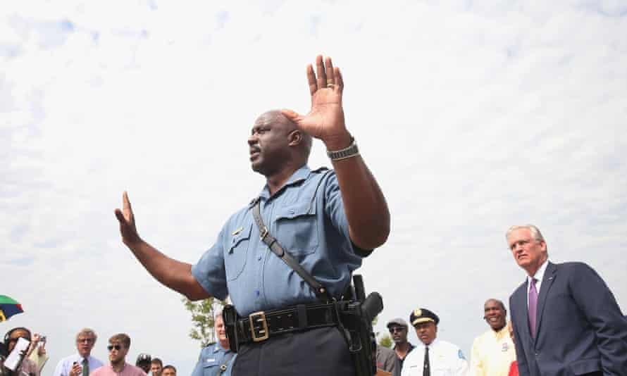 Captain Ronald Johnson of the Missouri State Highway Patrol.