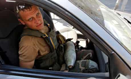 Ukrainian army sapper