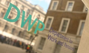 DWP department for work and pensions universal credit