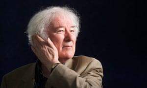 Irish poet and writer Seamus Heaney