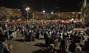 Thousands of Israelis rally for peace in Tel Aviv