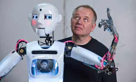 Will Jackson and his RoboThespian