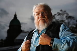 George RR Martin, author of Game of Thrones.